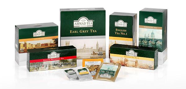 Beliebte Teesorten